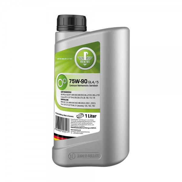 REKTOL 75W-90 GL4/5 1л  Трансмиссионное масло