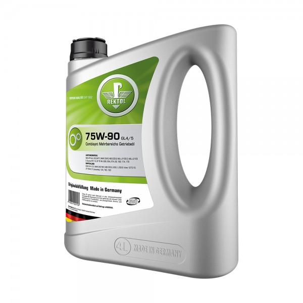 REKTOL 75W-90 GL4/5 4л  Трансмиссионное масло