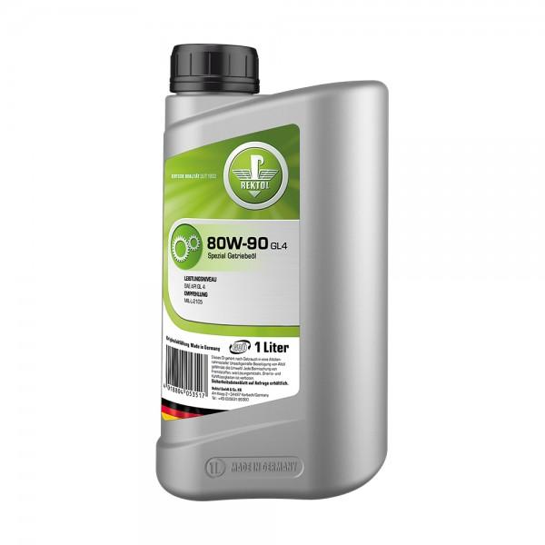REKTOL  80W-90 GL4 1л  Трансмиссионное масло
