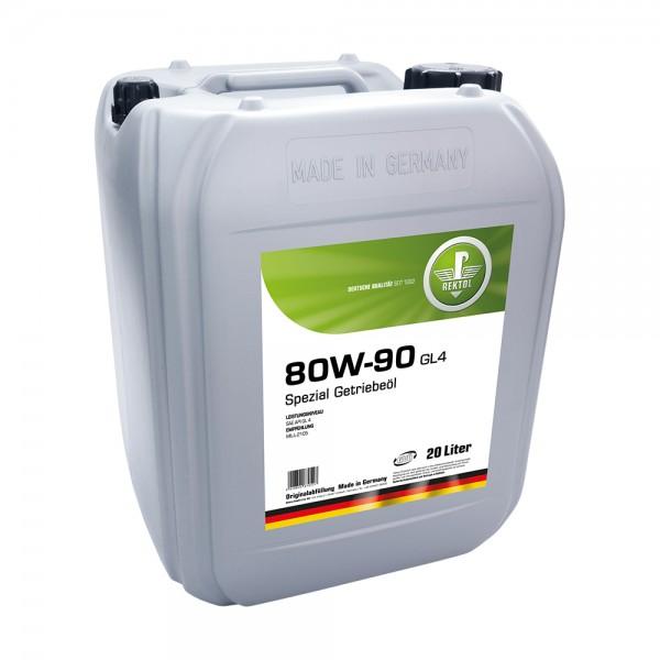 REKTOL  80W-90 GL4 20л  Трансмиссионное масло