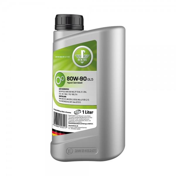 REKTOL 80W-90 GL5 1л  Трансмиссионное масло